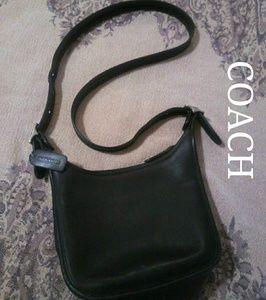 Coach Leather Shoulder/Crossbody Bag